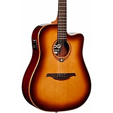 Lag Guitars Tramontane T100DCE Dreadnought Cutaway Acoustic-Electric Guitar