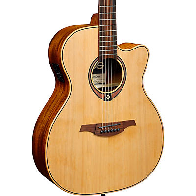 Lag Guitars Tramontane T170ACE Auditorium Cutaway Acoustic-Electric Guitar