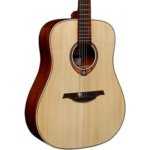 Lag Guitars Tramontane T70D Dreadnought Acoustic Guitar Satin Natural