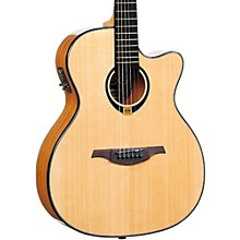 Lag Guitars Tramontane T80ACE Auditorium Cuataway Acoustic-Electric Guitar