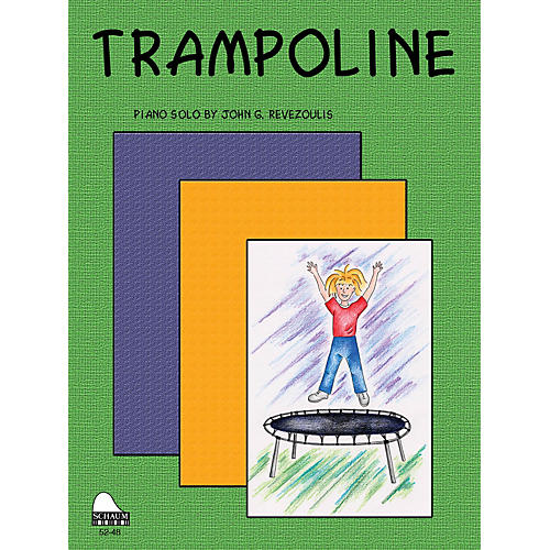 SCHAUM Trampoline Educational Piano Series Softcover