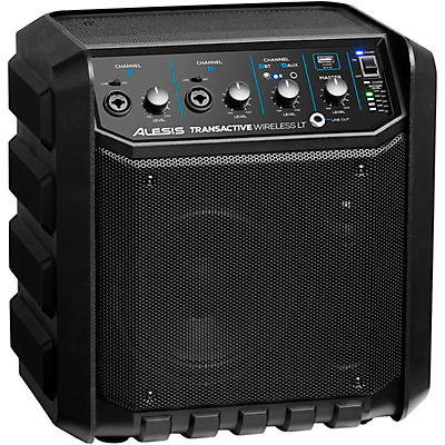 Alesis TransActive Wireless LT Portable PA Bluetooth Speaker With Rechargeable Battery