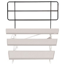 TransFold Choral Risers 46 in. Backrail