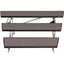 TransFold Choral Risers 48 in. Wide, 3 Levels