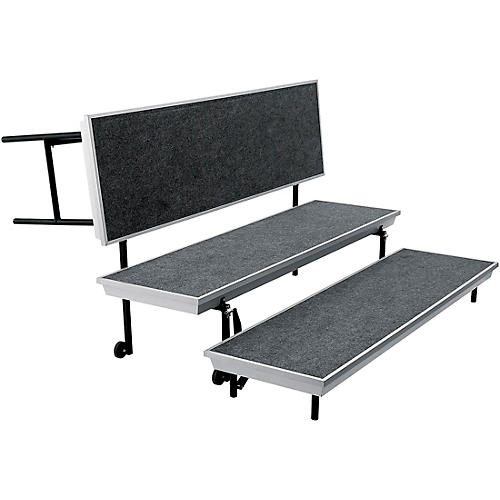 National Public Seating TransPort Straight Choral Riser