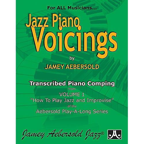 Jamey Aebersold Transcribed Piano Voicings from Vol. 1
