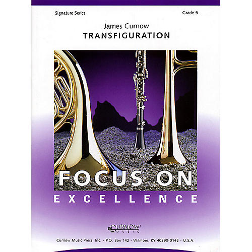 Curnow Music Transfiguration (Grade 5 - Score Only) Concert Band Level 5 Composed by James Curnow