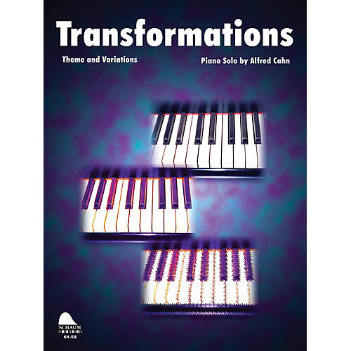 SCHAUM Transformations (theme-variations) Educational Piano Series Softcover