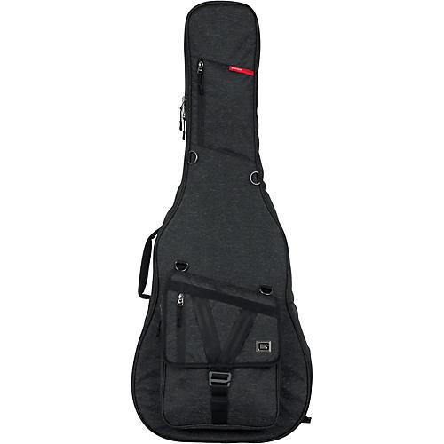 Gator Transit Series Acoustic Guitar Gig Bag Charcoal Black