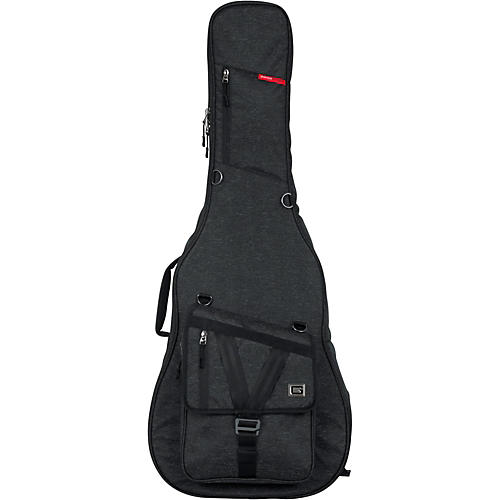 Gator Transit Series Acoustic Guitar Gig Bag Condition 1 - Mint Charcoal Black