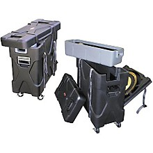 Open Box SKB Trap-X2 Roto-X Trap Case with Cymbal Vault