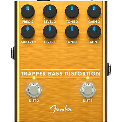 Fender Trapper Bass Distortion Effects Pedal