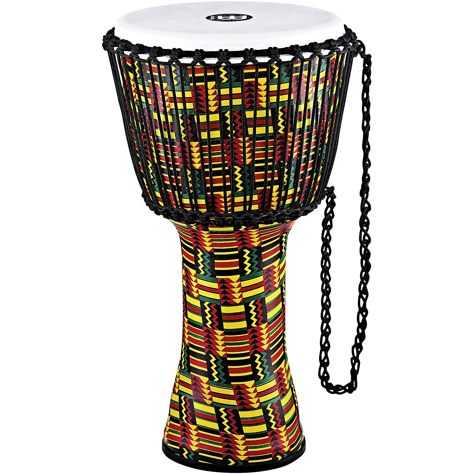 Meinl Travel Series Rope Tuned Djembe with Synthetic Head in Simbra Finish