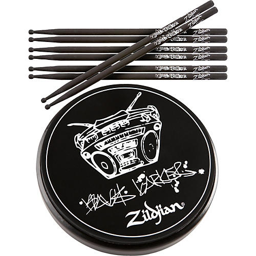 Zildjian Travis Barker Stick & Practic Pad Pack