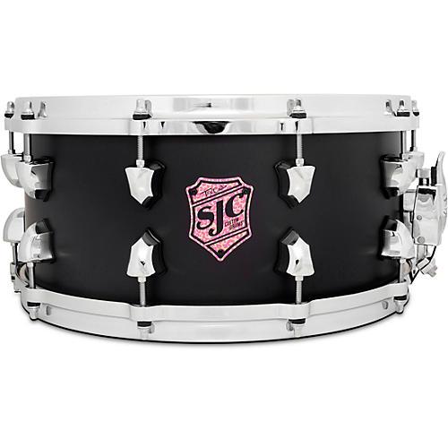 SJC Drums Tre Cool Black Mamba Snare Drum 14 x 6.5 in. Flat Black