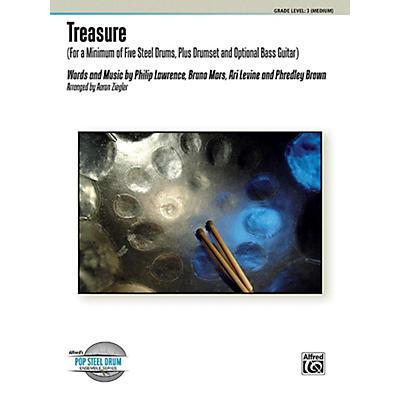 Alfred Treasure Steel Drum Ensemble Score & Parts