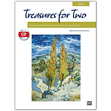 Alfred Treasures for Two Book & Acc. CD