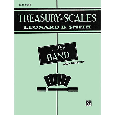 Alfred Treasury of Scales for Band and Orchestra 2nd F Horn