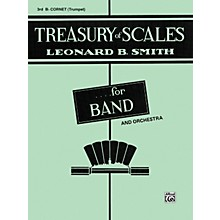 Alfred Treasury of Scales for Band and Orchestra 3rd B-Flat Cornet