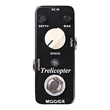 Open Box Mooer Trelicopter Tremolo Guitar Effects Pedal