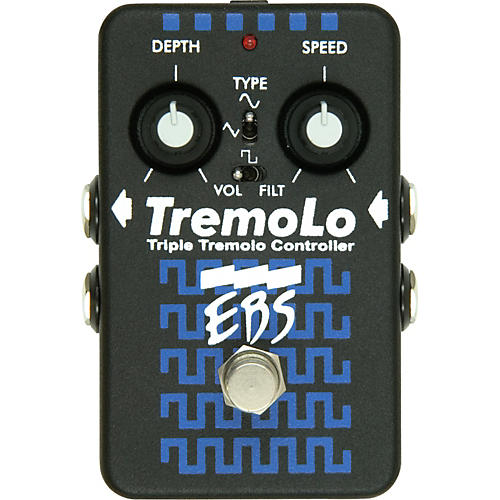 EBS TremoLo Guitar Effects Pedal