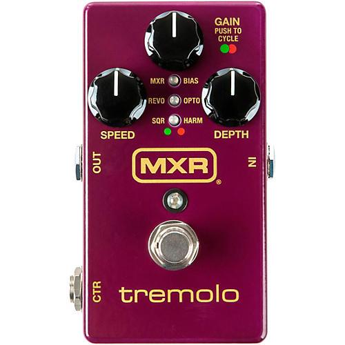 MXR Tremolo Effects Pedal Purple