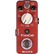Open BoxMooer TresCab Effects Pedal