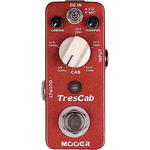 Mooer TresCab Effects Pedal Condition 1 - Mint