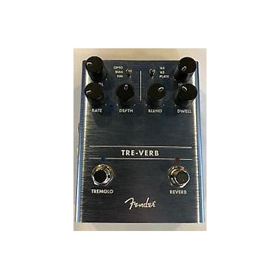 Fender Treverb Effect Pedal
