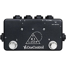 Open Box One Control Tri Loop Effects Switcher Pedal