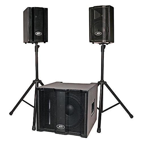 Peavey TriFlex II 1000W Three-Piece, Two-Channel Sound System