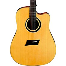 Open Box Michael Kelly Triad CE Dreadnought Cutaway Acoustic Electric Guitar