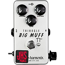 JHS Pedals Triangle Muff Illuminati Mod Fuzz Effects Pedal