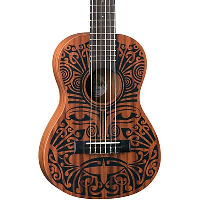 Luna Guitars Tribal 6-String Mahogany Ukulele