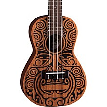 Luna Guitars Tribal Concert Ukulele