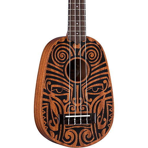 Luna Guitars Tribal Pineapple Ukulele