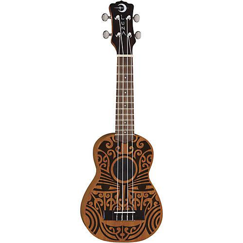 Luna Guitars Tribal Soprano Ukulele