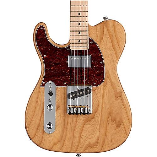 G&L Tribute ASAT Classic Bluesboy Left Handed Electric Guitar Maple Fingerboard Gloss Natural