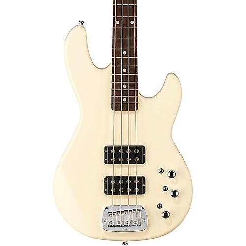 G&L Tribute L-2000 Electric Bass Brazilian Cherry Fingerboard Olympic White