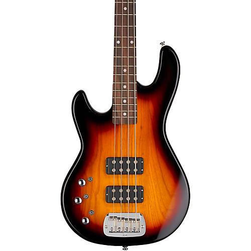 G&L Tribute L2000 Left-Handed Electric Bass Guitar 3-Tone Sunburst