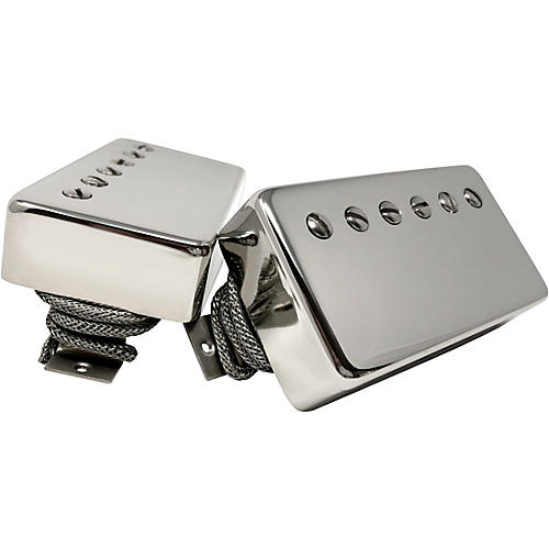 Sheptone Tribute PAF Style Humbucker Set with Nickel Covers Nickel Cover