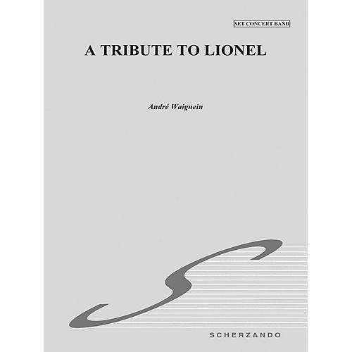 Hal Leonard Tribute To Lionel Score Concert Band