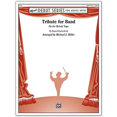 Alfred Tribute for Band Conductor Score 1 (Very Easy)
