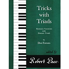 Lee Roberts Tricks with Triads - Set I Pace Piano Education Series Composed by Don Fornuto