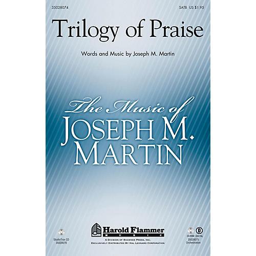 Shawnee Press Trilogy of Praise Studiotrax CD Arranged by Joseph M. Martin