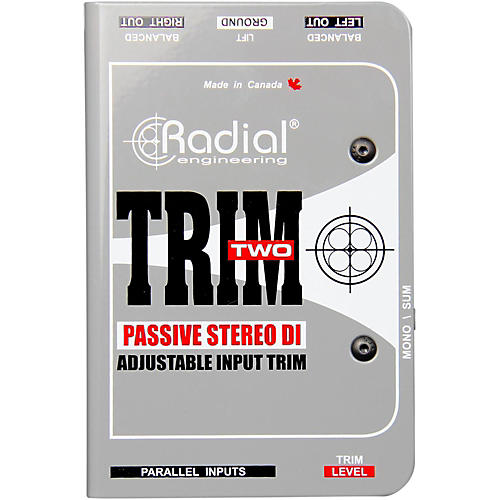 Radial Engineering Trim-Two Passive DI for AV with Level Control