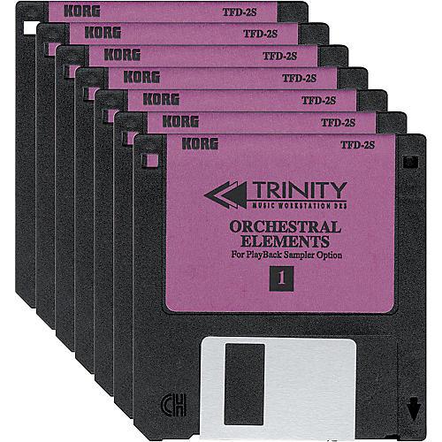 Korg Trinity Orchestral Elements PCM