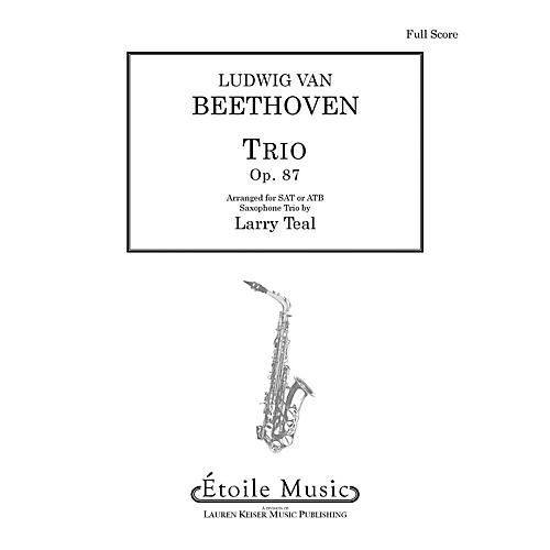 Lauren Keiser Music Publishing Trio, Op. 87 LKM Music Series by Ludwig van Beethoven