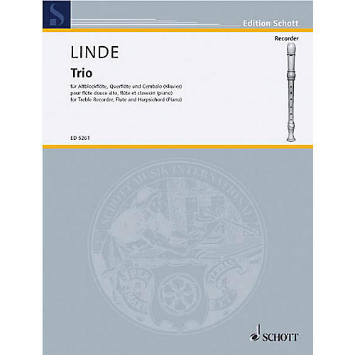 Schott Trio Schott Series Composed by Hans-Martin Linde