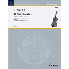 Schott Music Trio Sonatas Op. 3, Nos. 10-12 (Score and Parts) Schott Series Composed by Arcangelo Corelli